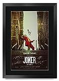 HWC Trading Joker The Cast Joaquin Phoenix Zazie Beetz Marc Maron Todd Phillips Gifts Póster Impreso con autógrafo Firmado para los Fans de la...
