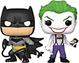 San Diego Comic-Con 2021 Exclusive Pop! DC Heroes: Batman White Knight: Batman & Joker Figura de vinilo 2 unidades