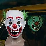 Vercico Muchachos Joker máscara máscaras Arthur Fleck Máscara Cosplay DC película del Payaso de Halloween para los niños Parte Complementos...