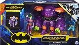 dc comics Armor (wandelbare Tech-Rüstung) mit 10cm-Actionfiguren Von Batman und Dem Joker Armadura Convertible con Figuras de acción de 10 cm, Color...