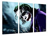 Poster Fotográfico Batman y el Joker, superheroe Tamaño total: 97 x 62 cm XXL, Multicolor