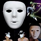 Máscara de Jabbawockeez Fool 's Day Joke Máscara Facial de Juguete Fancy Mysterious Costumes Halloween Ghost Dance Hip-Hop Performances Party Dress...