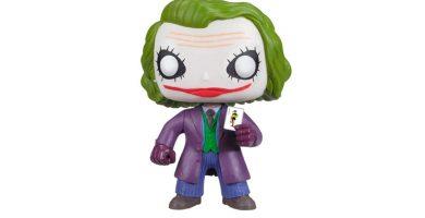Funko pop del Joker de El caballero Oscuro
