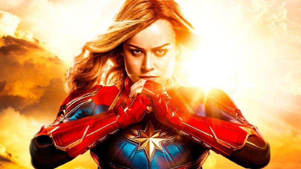 Brie Larson, actriz que interpreta a la Capitana Marvel