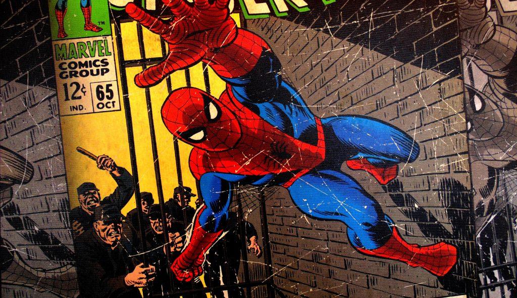 Spiderman en los cómics