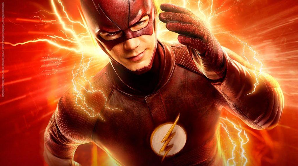 Grant Gustin, actor de la serie The Flash