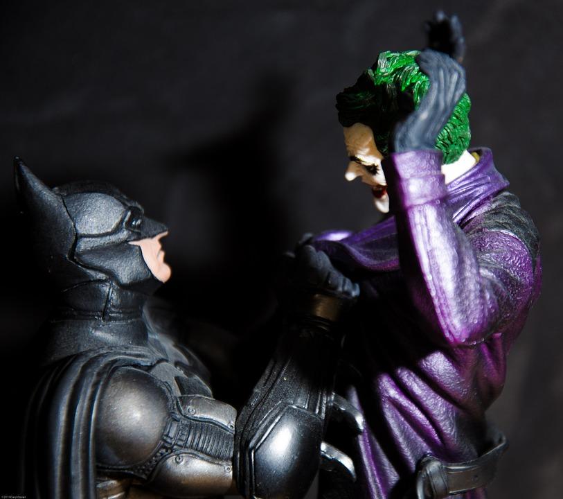 Figuras de acción: Batman vs Joker