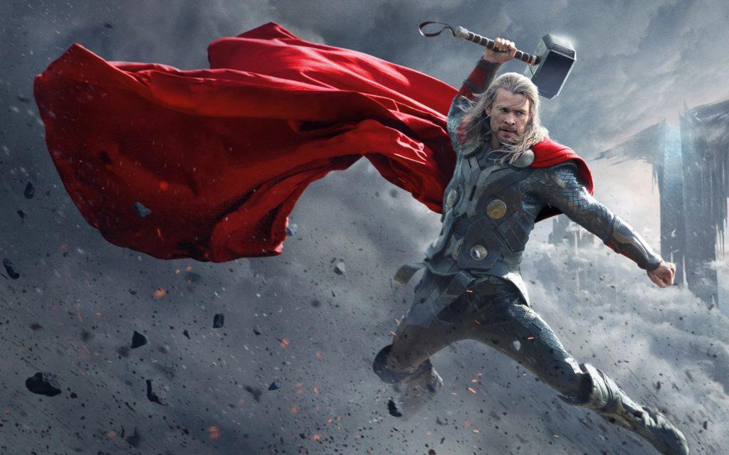Thor y su Mjölnir