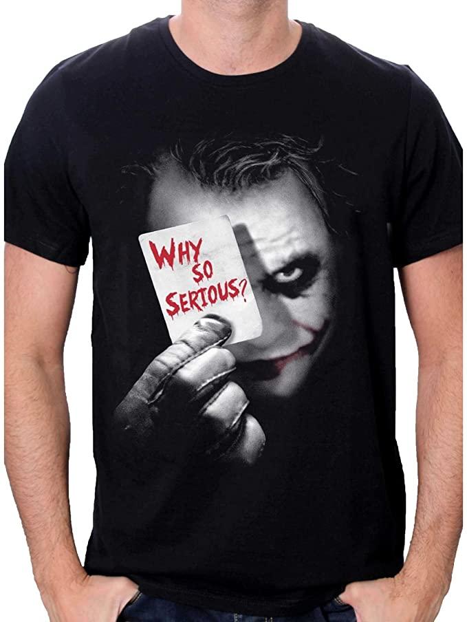 Camiseta de Joker - Why so serious?